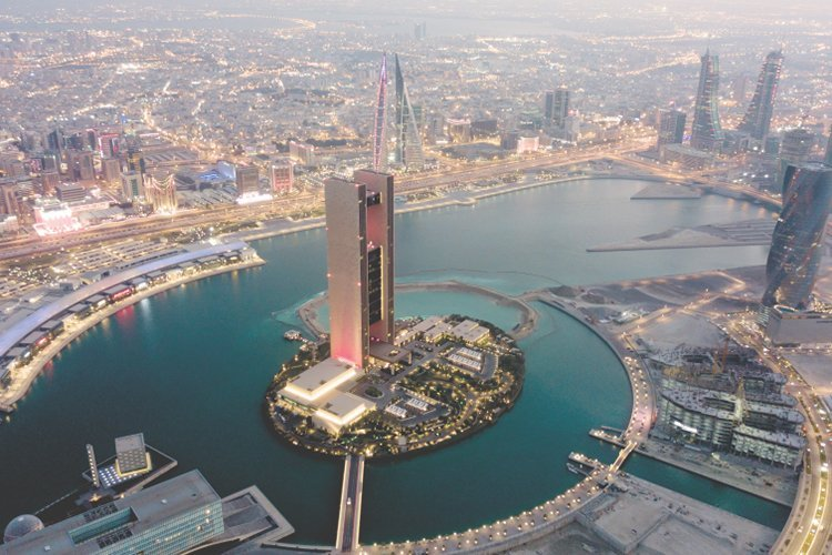 Bird's view of Bahrain
