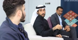 Tarabut Gateway team discussing open banking in MENA