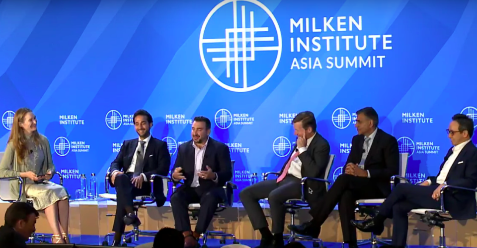 Milken Institute Asia Summit Panel with Abdulla Almoayed, CEO of Tarabut Gateway - the First Licensed Open Banking Platform in MENA
