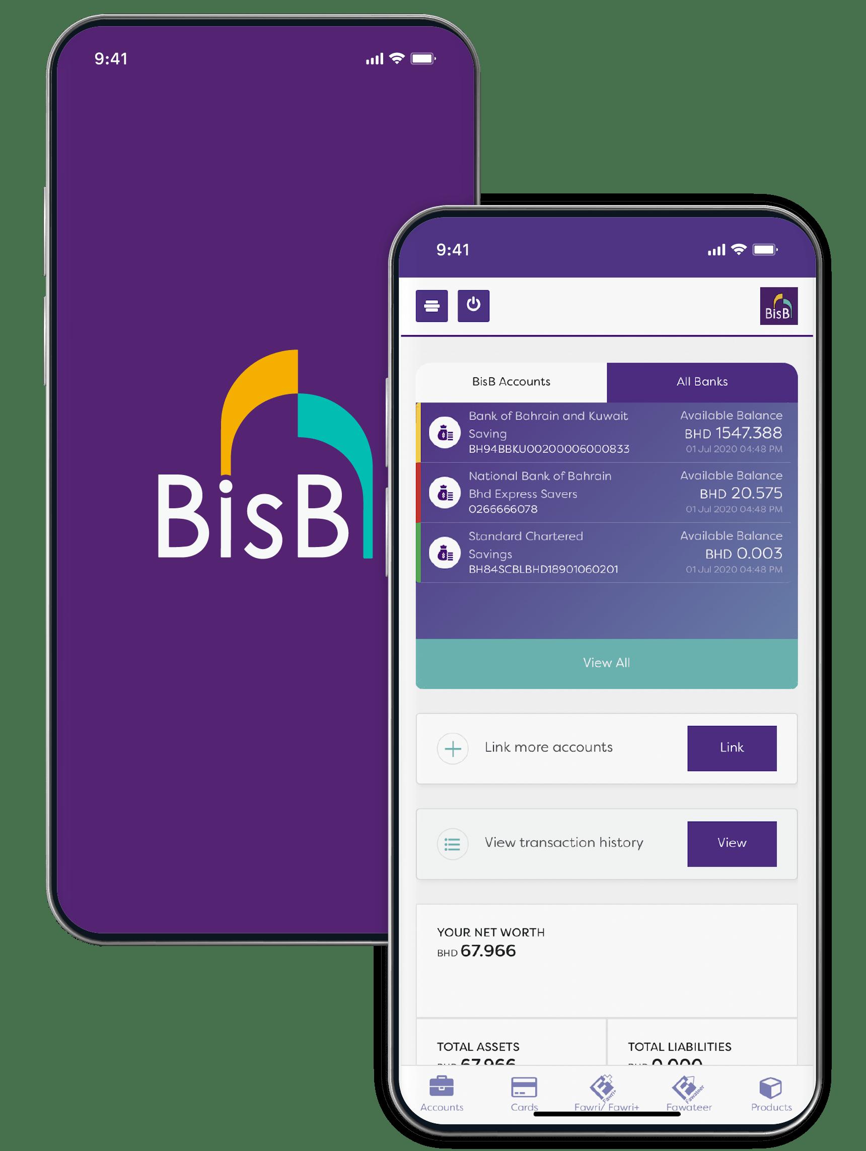 Account Aggregation - Bahrain Islamic Bank