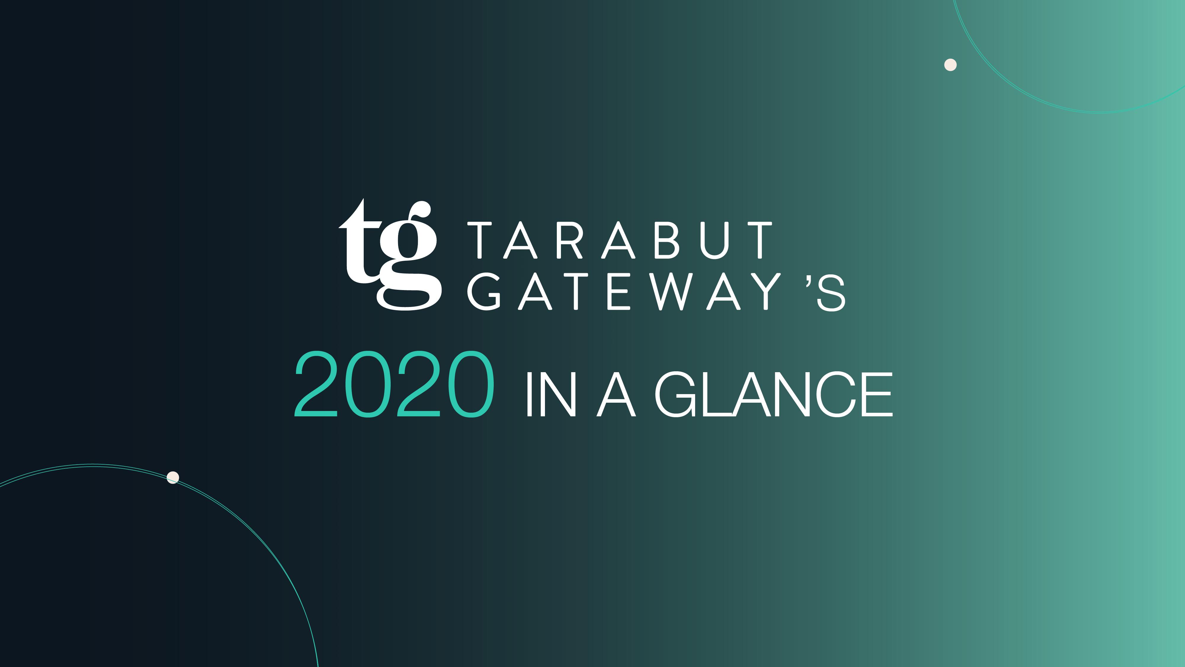 Tarabut Gateway's 2020 in a Glance