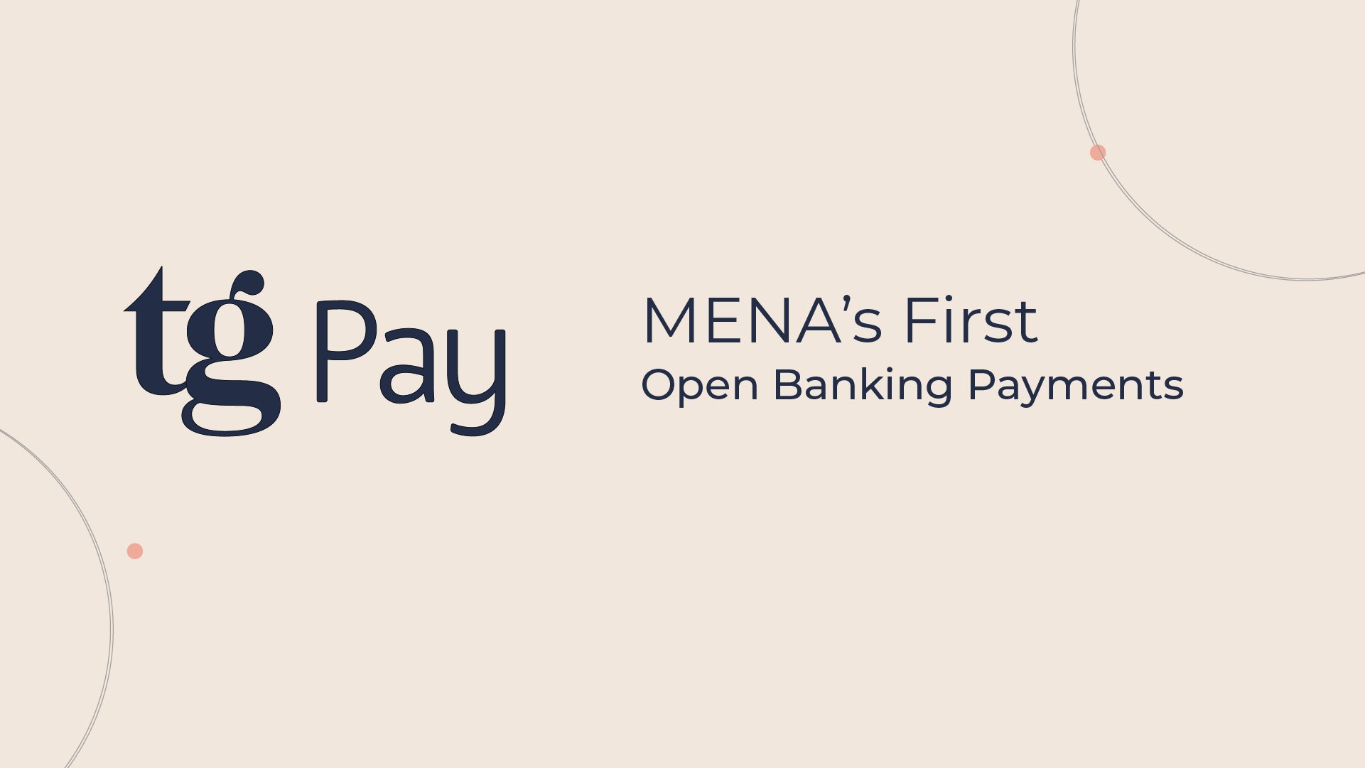 TG Pay: MENA's First Open Banking Payments
